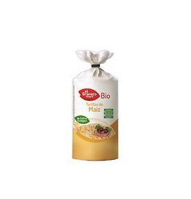 Tortitas de maíz Bio, El Granero (110g)  de El Granero Integral