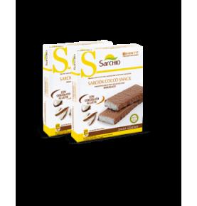 Barrita de coco cubierta de chocolate extrafino de leche Bio Sarchio (90g)  de Sarchio