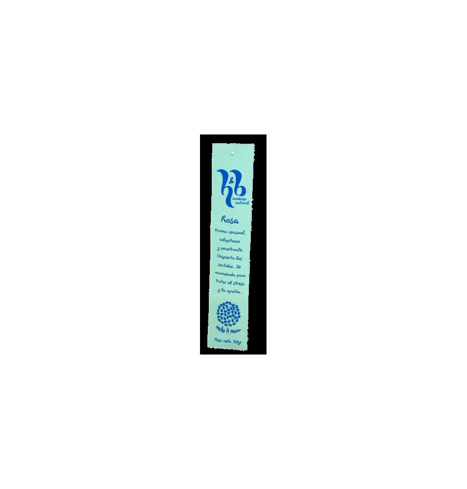 Incienso natural de Rosa, H&B Incense (20g)  de H&B Incense