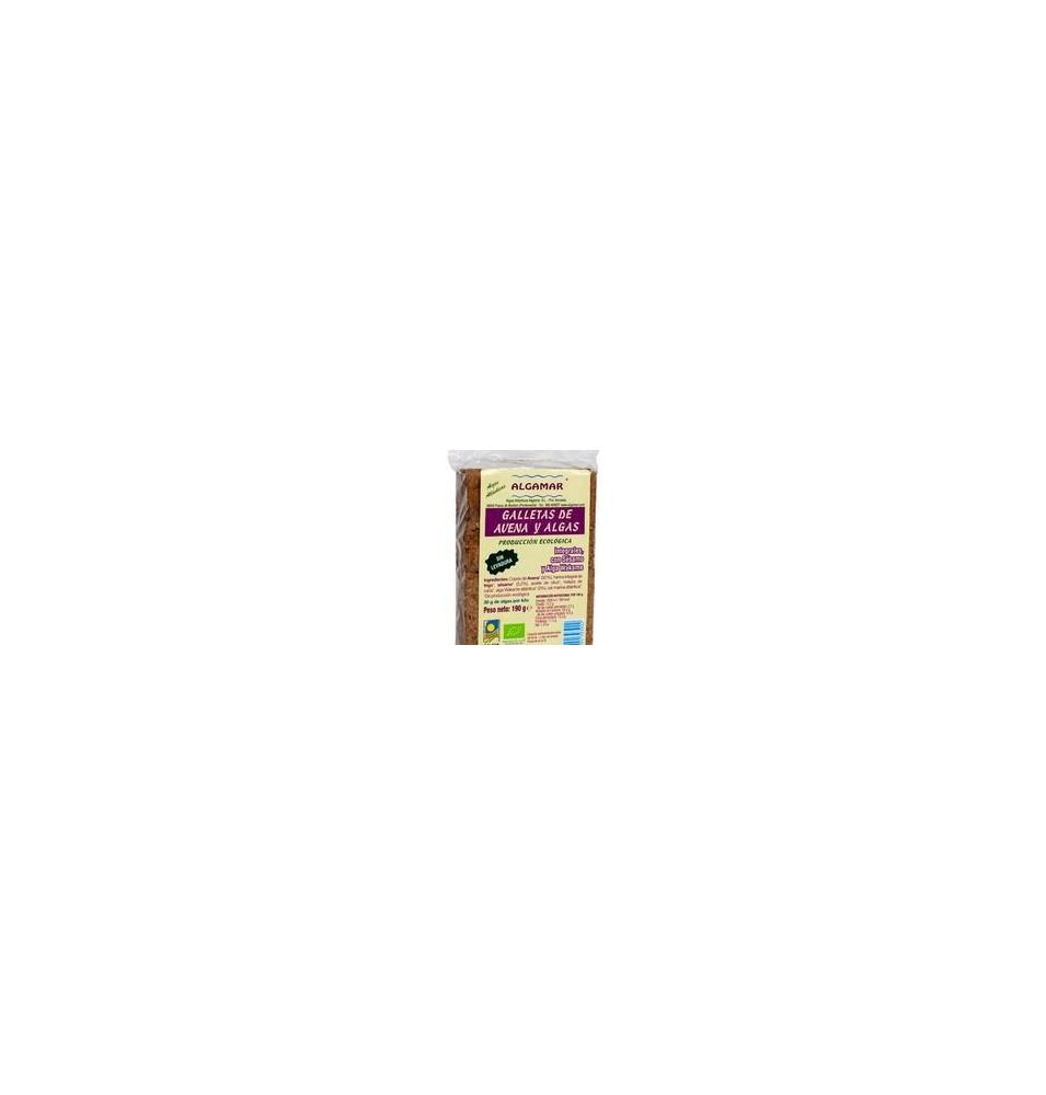 Galletas de avena y algas Bio, Algamar (190 g)  de Algamar