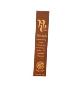 Incienso natural de Sándalo, H&B Incense (20g)  de H&B Incense