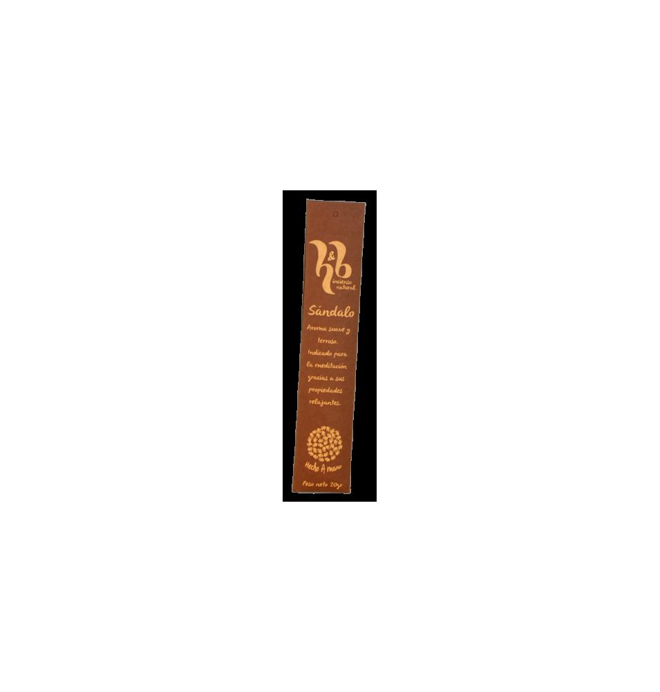 Incienso natural de Sándalo, H&B Incense (20g)  de H&B Incense