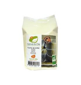 Harina de mijo sin gluten Bio, Nature&Cie (500g)  de El Granero Integral