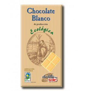 Chocolate Blanco Eco Sole (100g)  de Chocolates Solé