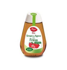 Sirope de agave sabor fresa Bio, El Granero (335g)  de El Granero Integral