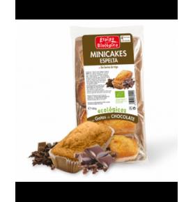 Minicake Espelta choco bio, Espiga Biológica (45g)  de