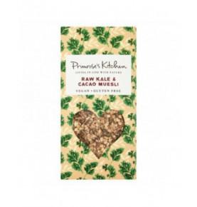 Muesli avena sin gluten con kale y cacao crudo, Primrose`s Kitchen (300g)  de Primrose´s Kitchen