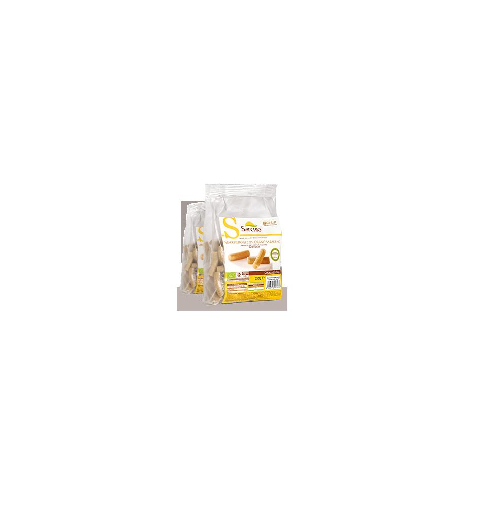 Macarrones de trigo sarraceno, sin gluten Bio Sarchio (250g)  de Sarchio