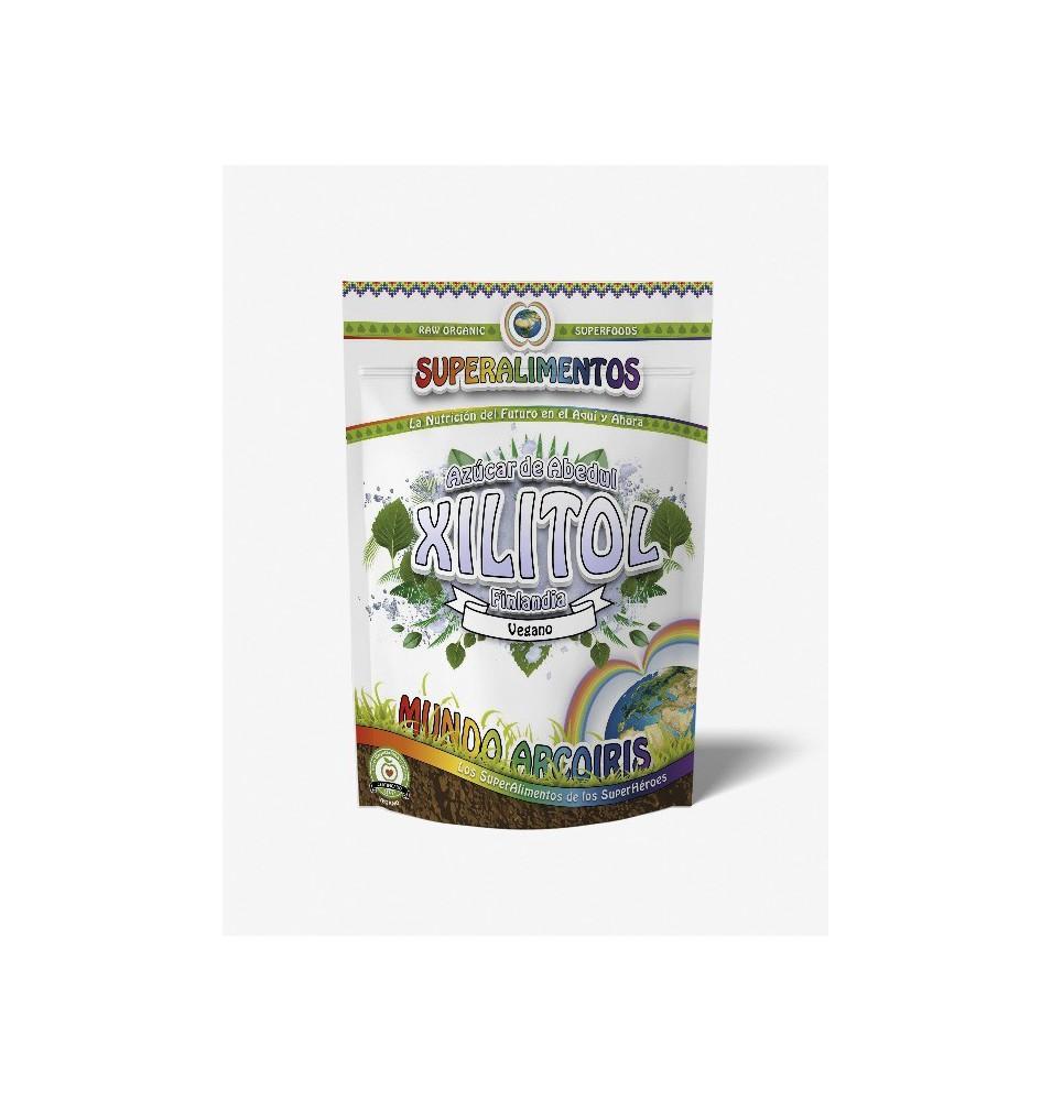 Xylitol azúcar de abedul, Superalimentos Mundo Arcoiris  de SuperAlimentos Mundo Arcoiris