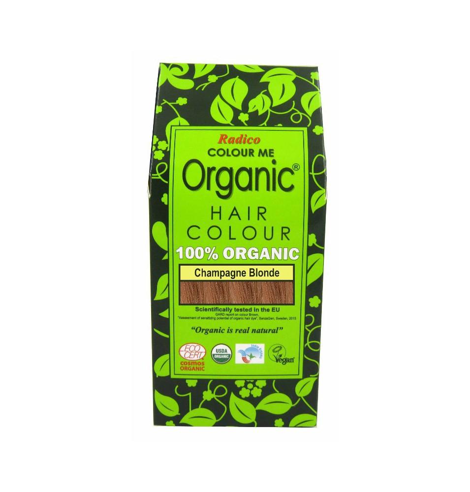 Tinte cabello vegetal rubio champagne de Radico (100g)  de Radico