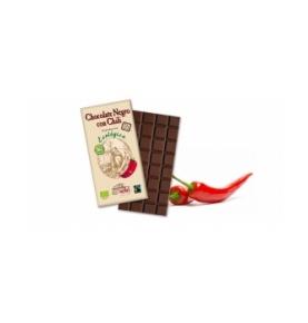 Chocolate negro con chili Bio, Solé (100g)  de Chocolates Solé