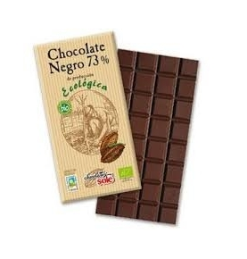 Chocolate negro 73% Bio, Sole (25g)  de Chocolates Solé