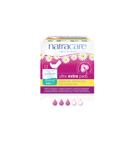 Compresa Ultra Extra Normal Alas Bio, Natracare (12 Uni)  de NATRACARE