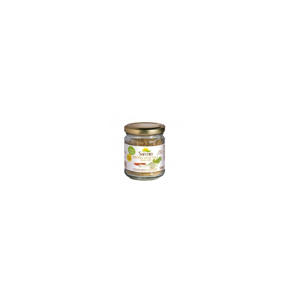 Caldo Vegetal Granular Sg Bio, Sarchio (125g)  de Sarchio