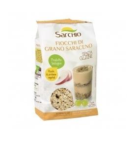 Copos de Trigo Sarraceno Bio, Sarchio (375g)  de Sarchio