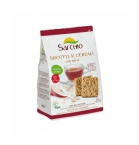 Galleta Cereales Manzana Bio, Sarchio (200g)  de Sarchio