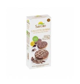 Torta arroz Choco Leche Bio, Sg Sarchio (100g)  de Sarchio