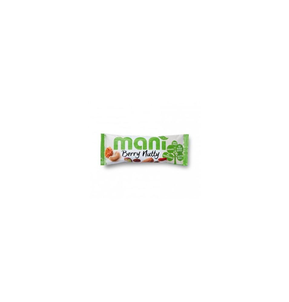 Mix de frutas y frutos secos Green Berry Nutty Bio, Mani (45 g)  de Mani