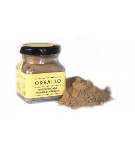 Nuez moscada molida eco, Orballo (55g)  de Orballo