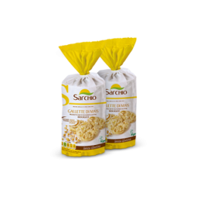 Tortitas de maíz sin gluten Bio, Sarchio (100g)  de Sarchio