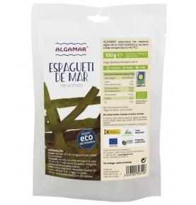 Alga Espagueti de mar Bio, Algamar (100g)  de Algamar
