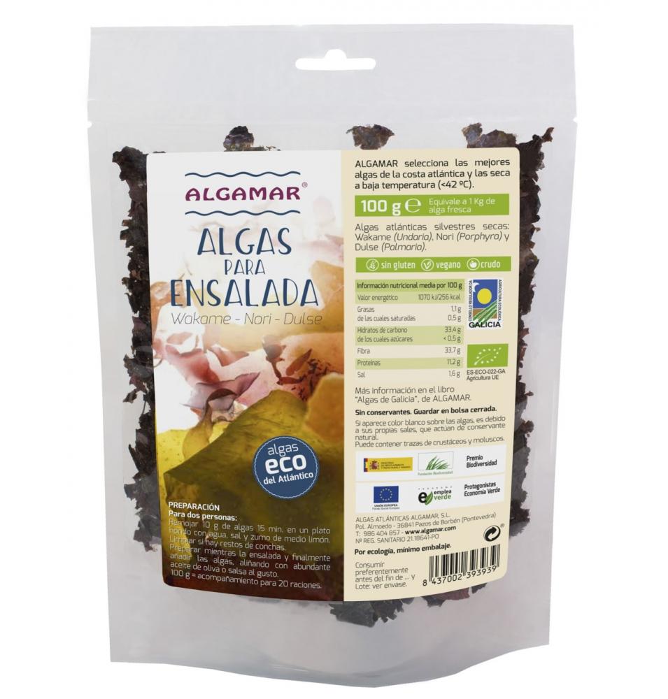 Algas para ensalada ecológica, Algamar (100g)  de Algamar