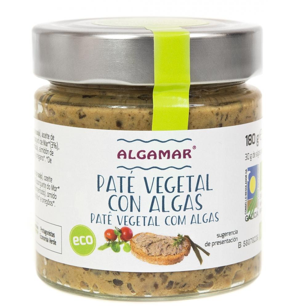 Paté de algas Bio, Algamar (200g)  de Algamar
