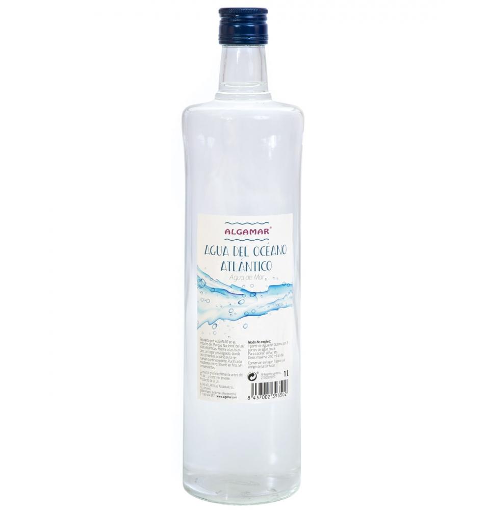 Agua del Océano Atlántico Algamar (1l)  de Algamar