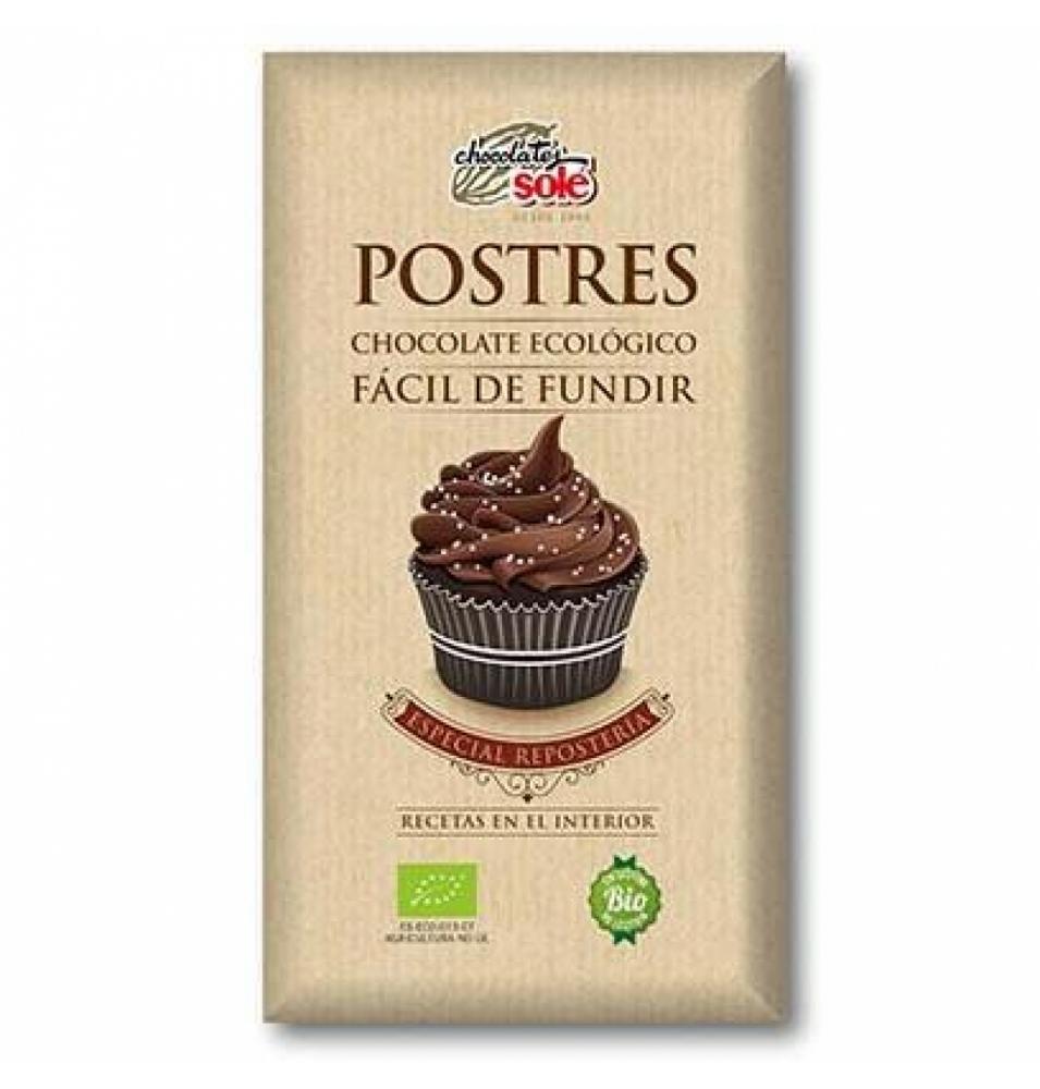 Chocolate Postre Bio, Solé (200g)  de Chocolates Solé