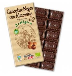 Chocolate Negro 73% con Almendra Bio Sole (150g)  de Chocolates Solé
