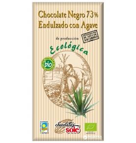 Chocolate Negro 73% agave Eco Sole (100g)  de Chocolates Solé