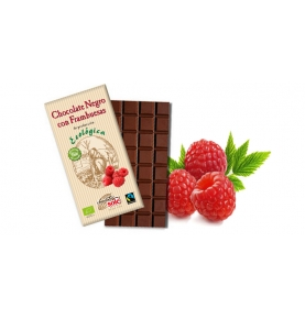 Chocolate Negro frambuesas Eco Sole (100g)  de Chocolates Solé