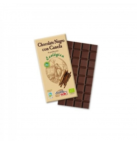 Chocolate Negro canela Eco Sole (100g)  de Chocolates Solé