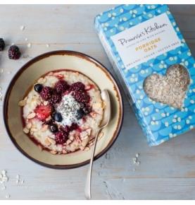 Copos de avena ecológica sin gluten Porridge, Primrose`s Kitchen (500g)  de Primrose´s Kitchen