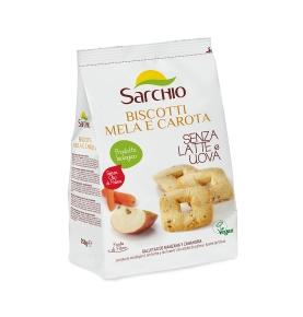 Galletas manzana y zanahoria Bio Sarchio (250g)  de Sarchio