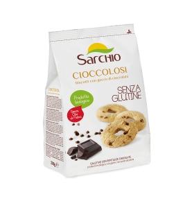 Galletas con pepitas de chocolate puro sin gluten Bio, Sarchio (200g)  de Sarchio