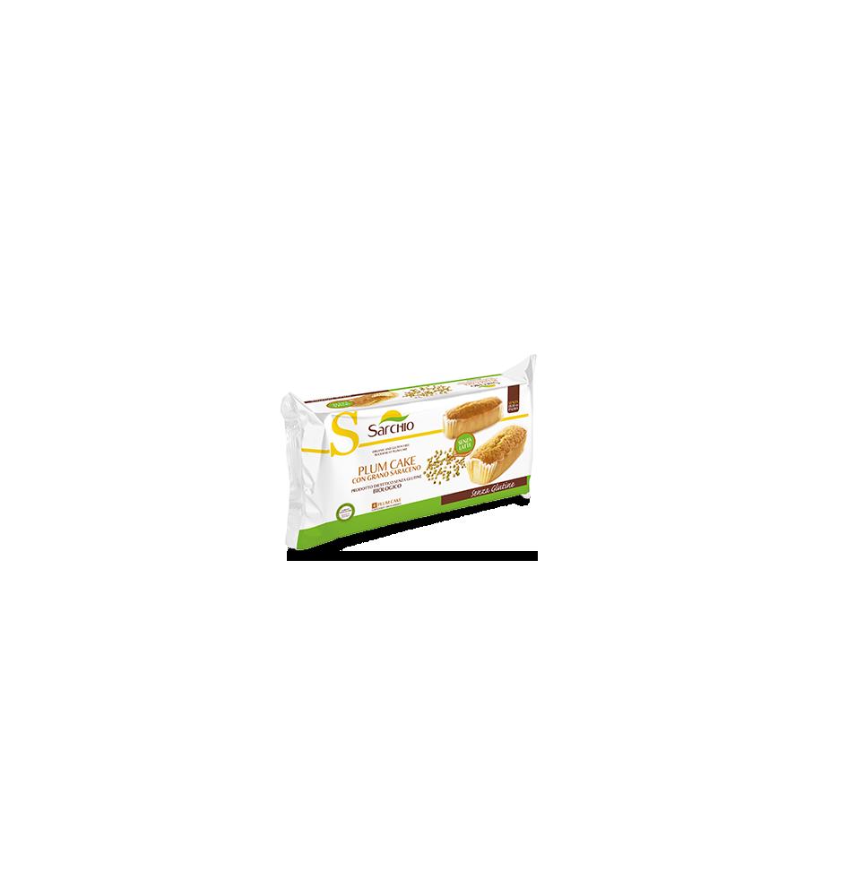 Plum cake trigo sarraceno sin gluten Bio Sarchio  de Sarchio