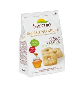 Galletas de trigo sarraceno con miel sin gluten Bio Sarchio (200g)  de Sarchio